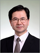 The President of the Japan Society of Nutrition and Food Science : Yoshiharu Shimomura