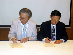 中国栄養学会(CNS)とMOU(Memorandum of Understanding)を締結