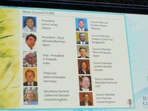 New Council IUNS